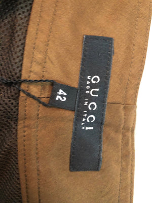 Tom Ford for Gucci Brown Drawstring Pants, label