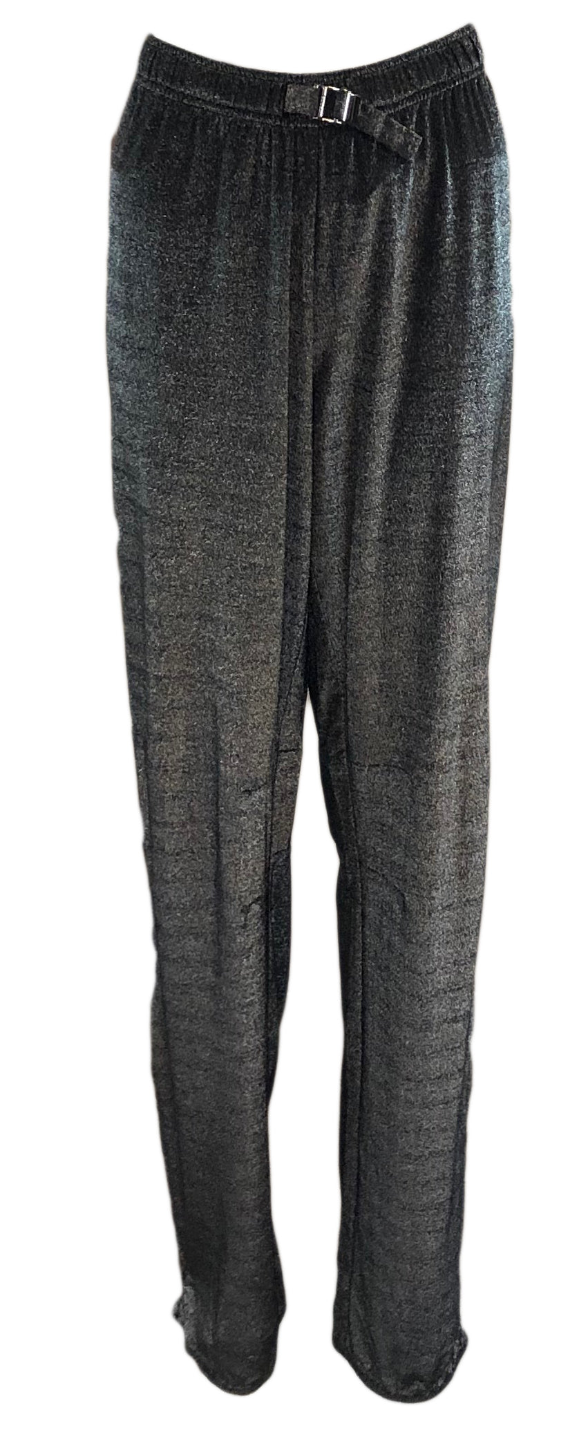 Gucci Silver Metallic Sparkle Track Pants