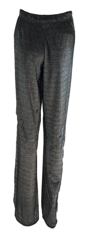 Gucci Silver Metallic Sparkle Track Pants, back