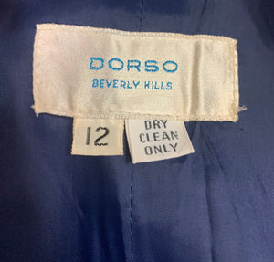 Dorso 70s Paisley Trench Coat LABEL 5 of 5
