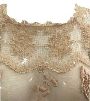 1920s Two Piece Lace and Crochet Ensemble  6 of 7