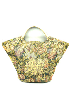 Bienen Davis 60s Floral Brocade Mini Tote Bag 1 of 4