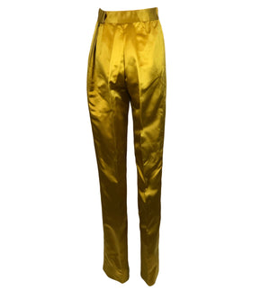 70s Roberto Capucci Peau de Soie  Ensemble Pants 7 of 10