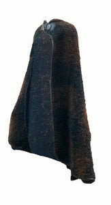 Bonnie Cashin Brown and black Nubby Cape Side 1 of 4