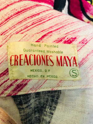 Creaciones Maya 50s Mexican Circle Skirt LABEL 4 of 4
