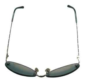 Chanel 2000s Rimless Logo Sunglasses TOP VIEW 3 of 5
