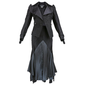 Junya Watanabe for Comme des Garçons Black Asymmetrical Ensemble  Front 1 of 7