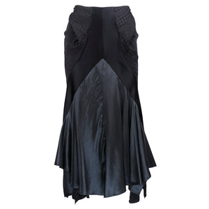 Junya Watanabe for Comme des Garçons Black Asymmetrical Ensemble  Skirt 4 of 7