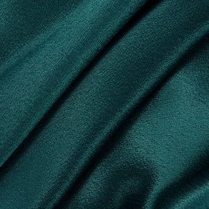 Vintage KAMALI 80s Green Satin Gown, detail 2