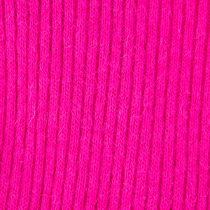 Vintage KELLY 80s Magenta Bodycon Scoop-Back Dress, detail 1