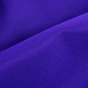 Vintage YSL 80s Purple Satin Evening Jacket, detail 2