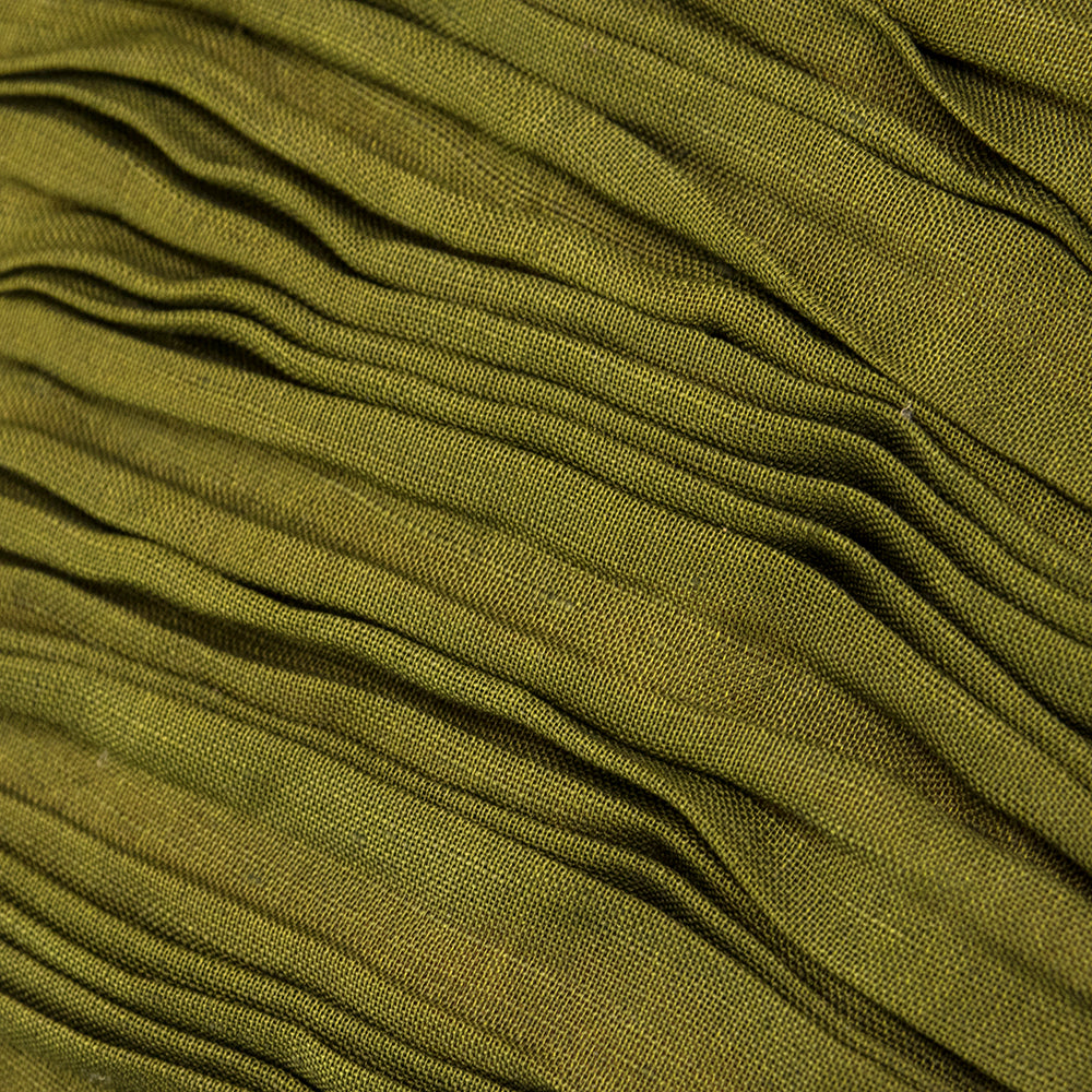 Vintage CONNOLLY 50s Deep Olive Green Evening Skirt, detail 1