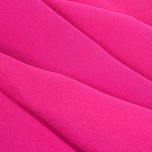 VALENTINO Hot Pink Silk Crepe Goddess Gown, detail 2