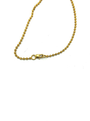 Lifetime Versace Gold Tone Enamel Dog Tags CHAIN 5 of 5