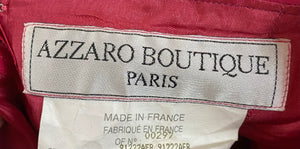 Loris Azzaro Fuschia Ruched Mini Dress  LABEL 4 of 4