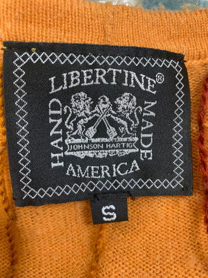 Libertine Handmade Pumpkin Wool Blend 3D Cardigan   LABEL 3 of 3