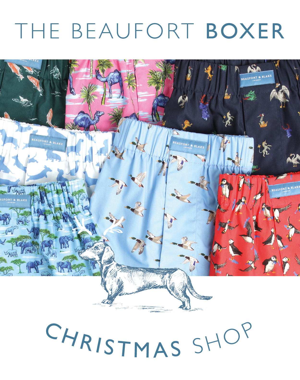 Men's Boxer Shorts - Beaufort & Blake
