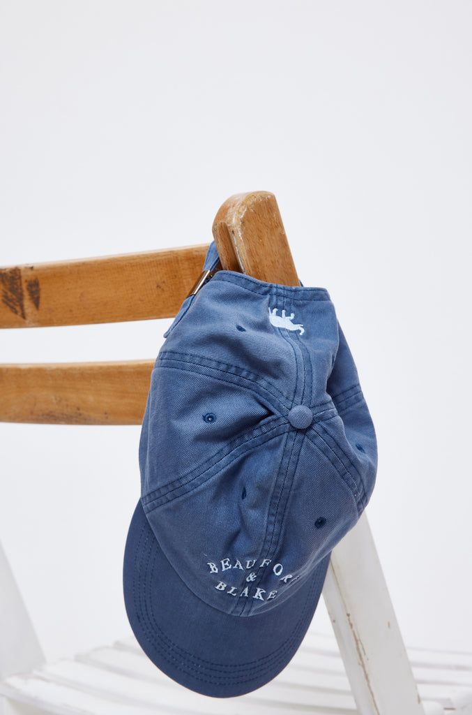 Beaufort Washed Navy Cap