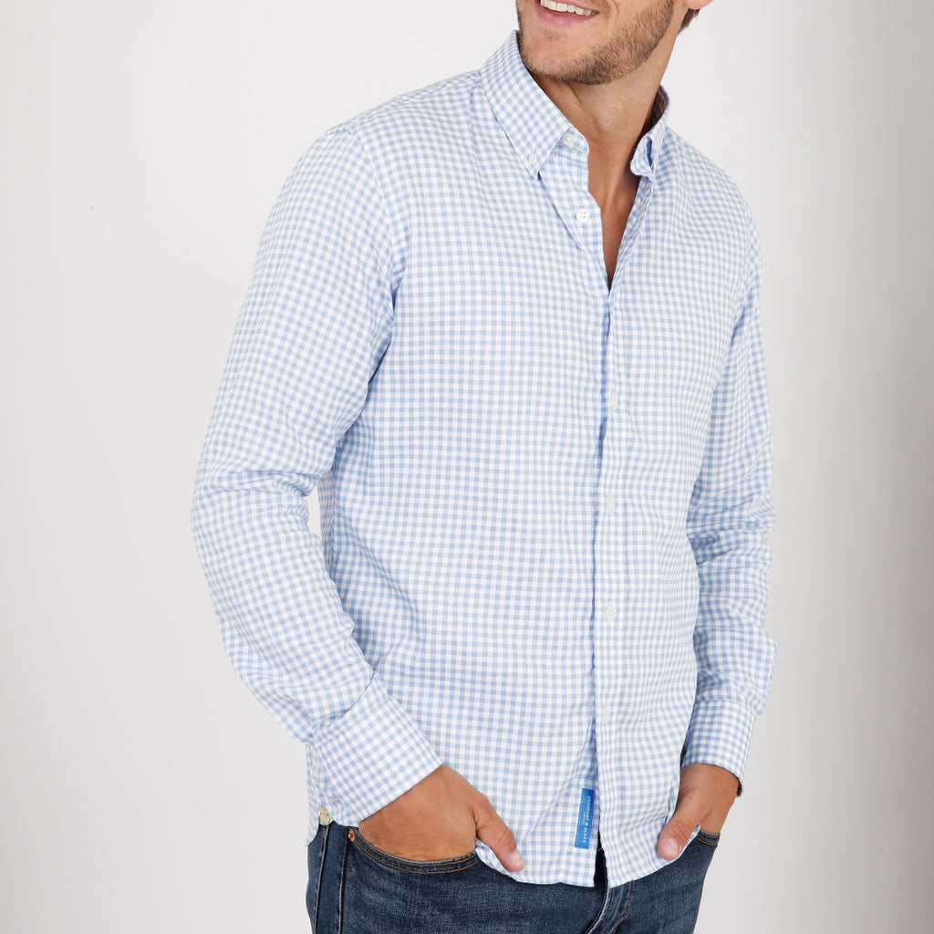 Munro Classic Oxford Check Shirt