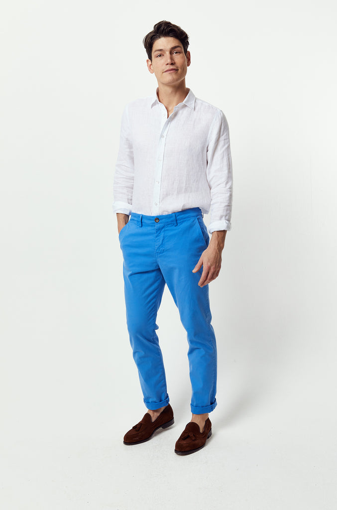 Seaview Cornflower Chinos