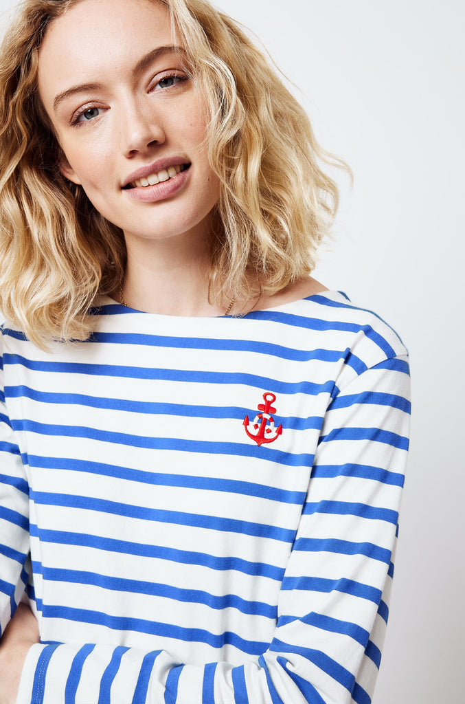 Fortuneswell Embroidered Breton