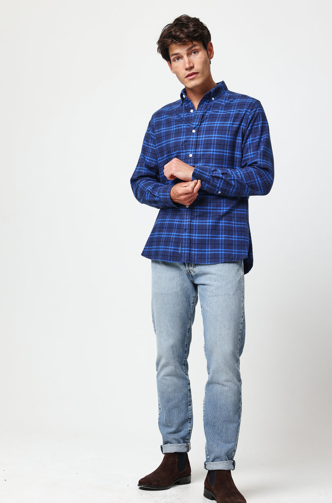 Stanley Ink Check Shirt