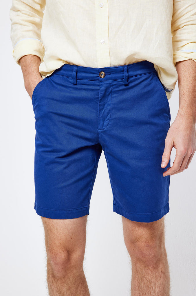 Brading Bright Navy Chino Shorts