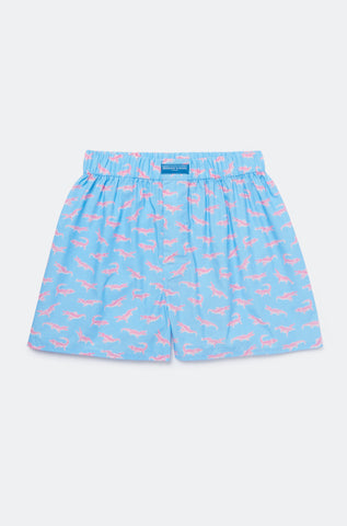 California Croc Sky Boxer Shorts