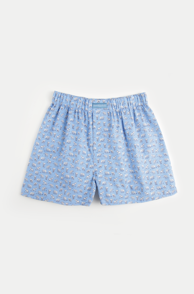 Beaufort Elephant Boxer Shorts