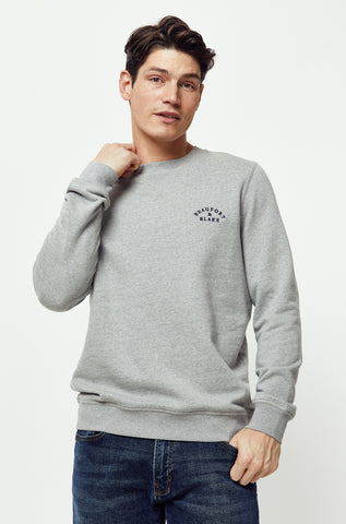 Mottistone Grey Crew Neck Sweat