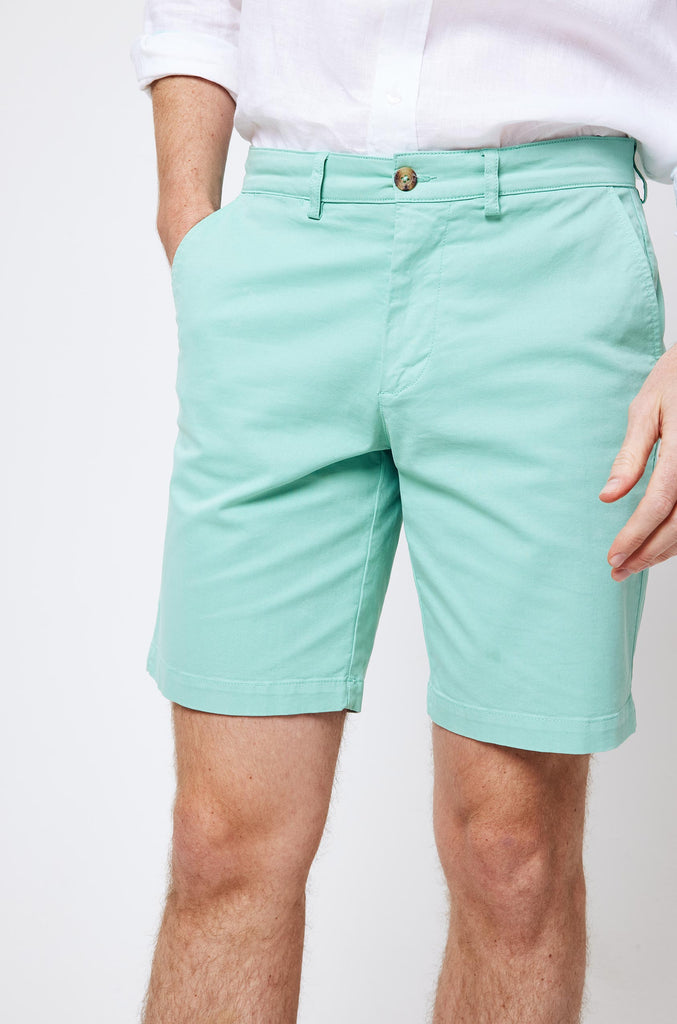 Brading Mint Chino Shorts