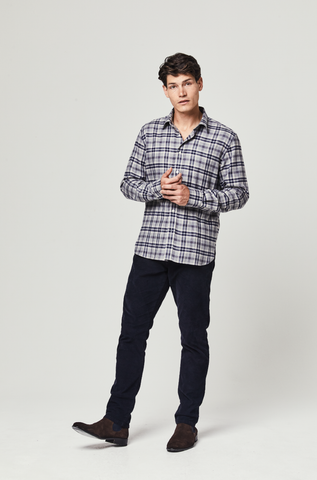 Montrose Wool Blend Check Shirt