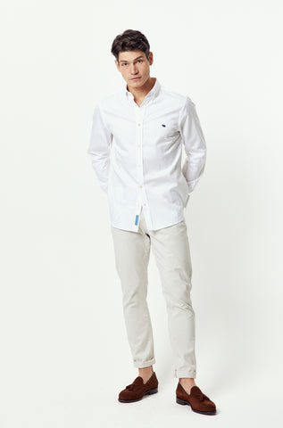 Thorley White Lightweight Shirt