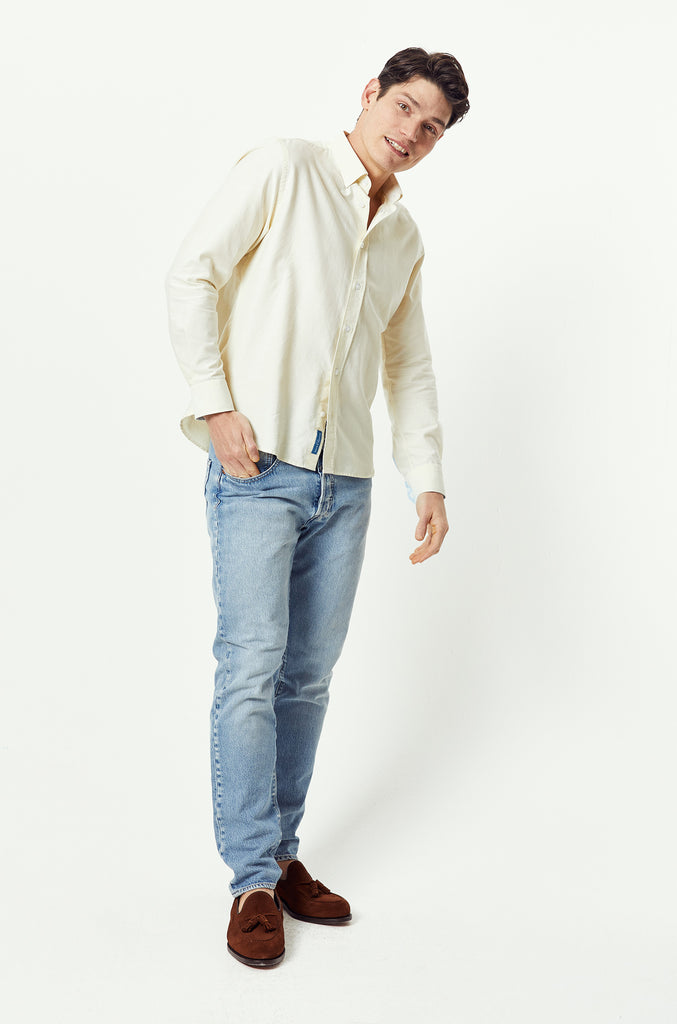 Beaufort Lemon Oxford Shirt