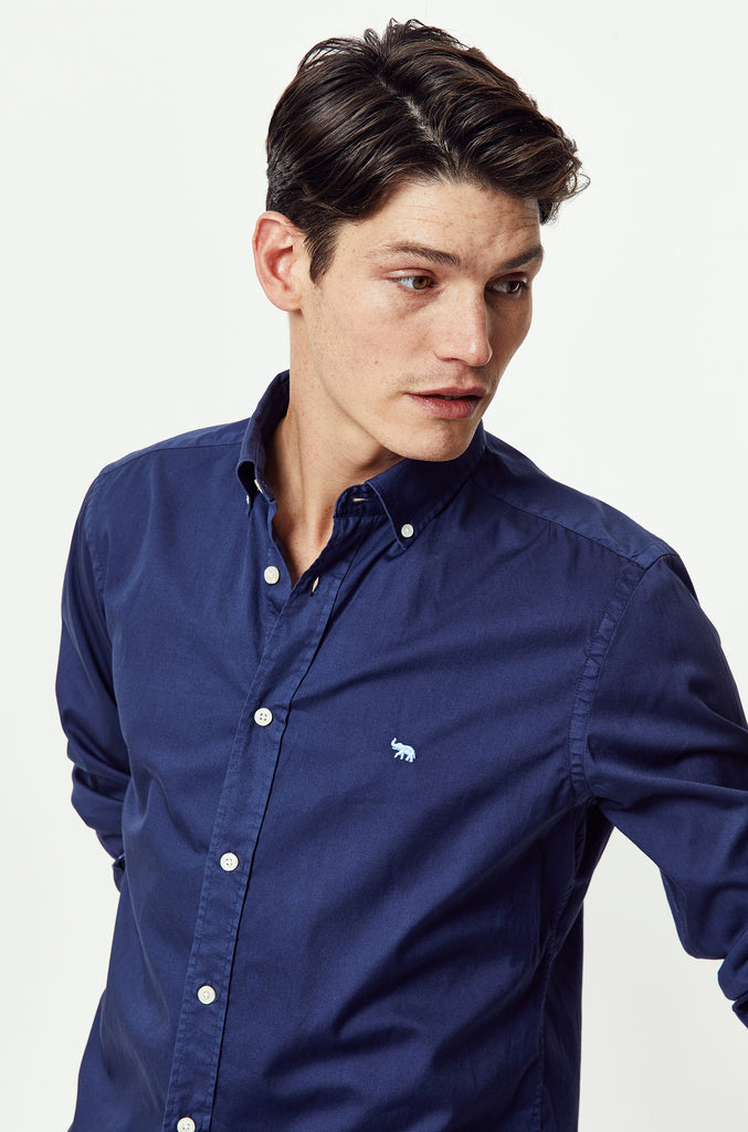 Thorley Navy Lightweight Shirt