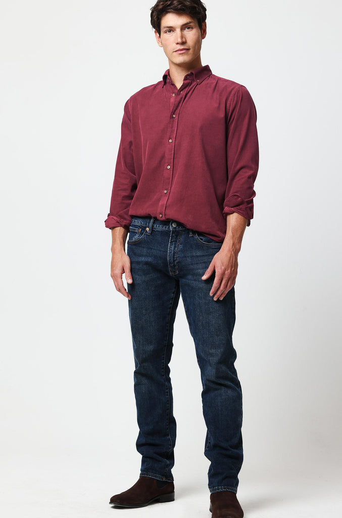 Fife Oxblood Cord Shirt