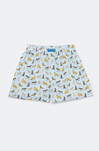 Spot Your Dog Sky Boxer Shorts