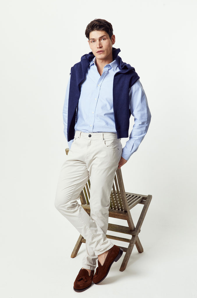 Solent 5 Pocket Stone Chinos