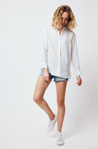 Seatown Stripe Linen Shirt