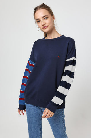 Longborough Stripe Sweat