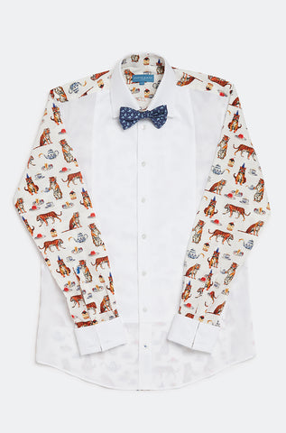Tiger Party Dress Shirt