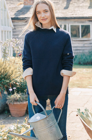 Combe Navy Jumper