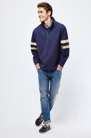 Nottington Navy Windbreaker