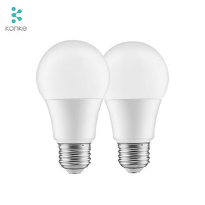 Konke 9 watt smart glödlampa Google Home & Alexa
