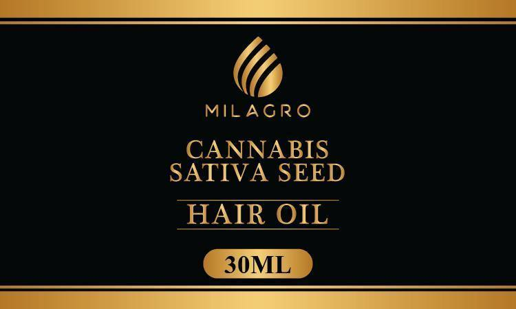 Milagrocbd Cannabis Sativa Seed Oil Herbal Concentrate 30ml