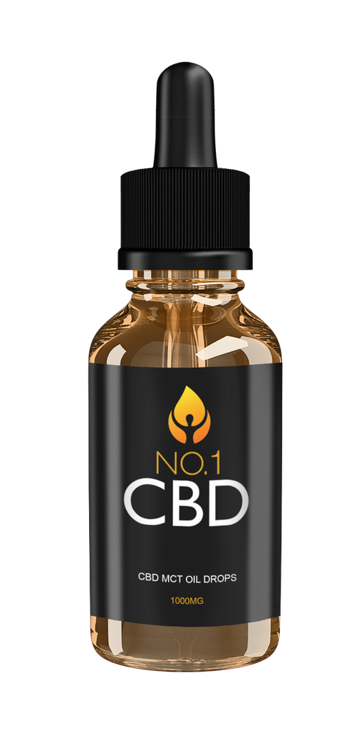 CBD MCT Oil Drops 1000mg