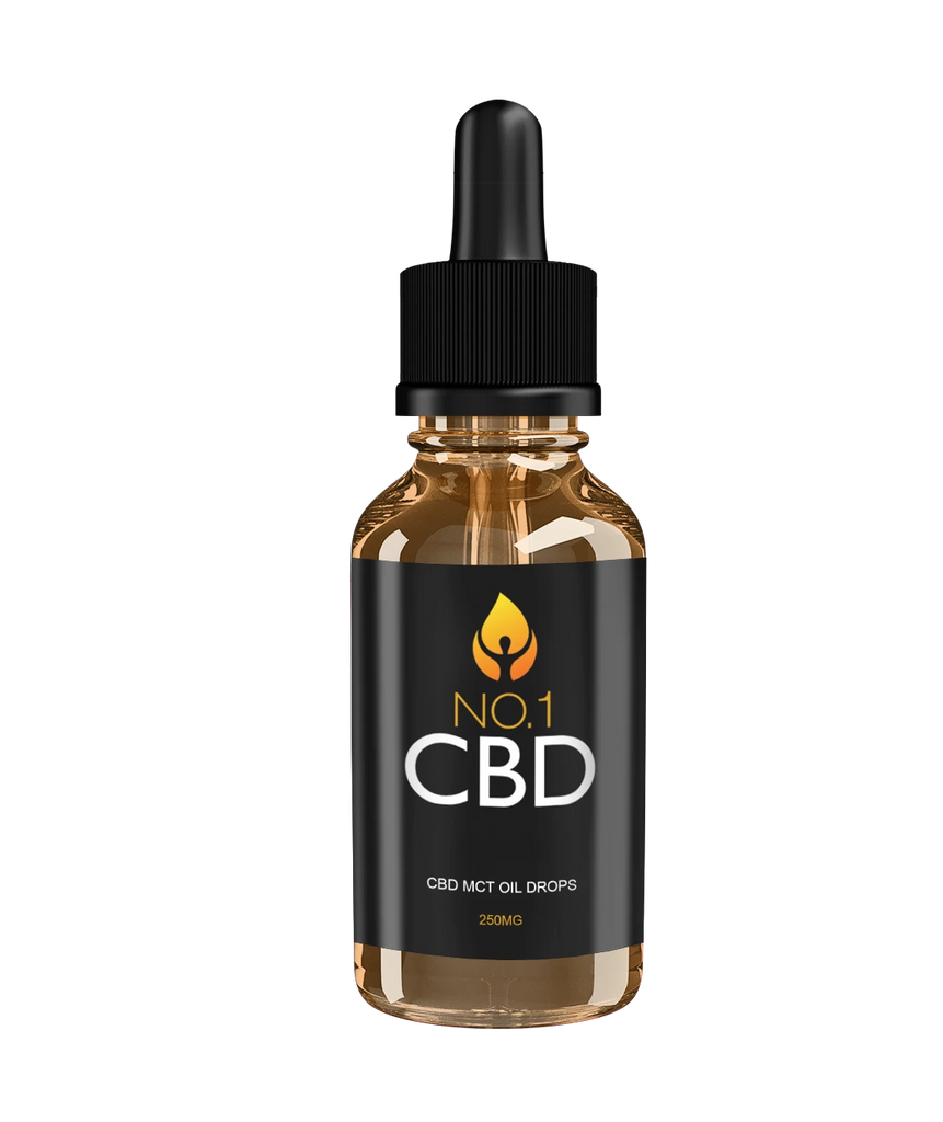 CBD MCT Oil Drops 250mg