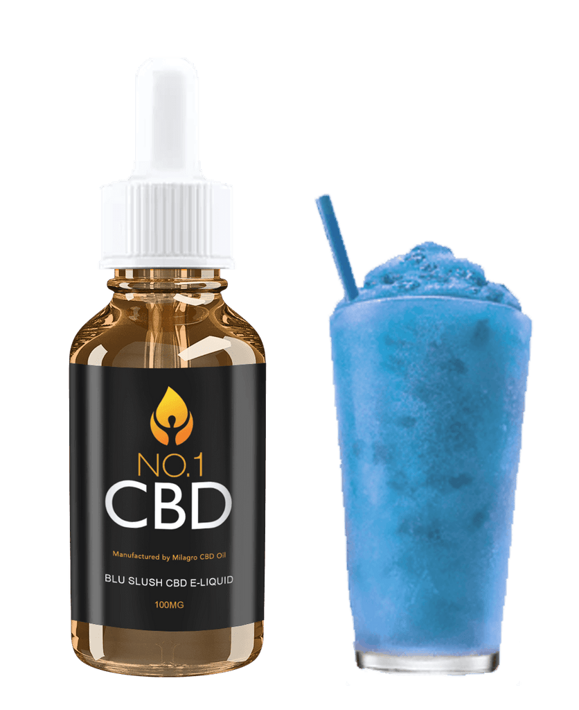 Blu Slush CBD E-Liquid 10ml - No1 CBD