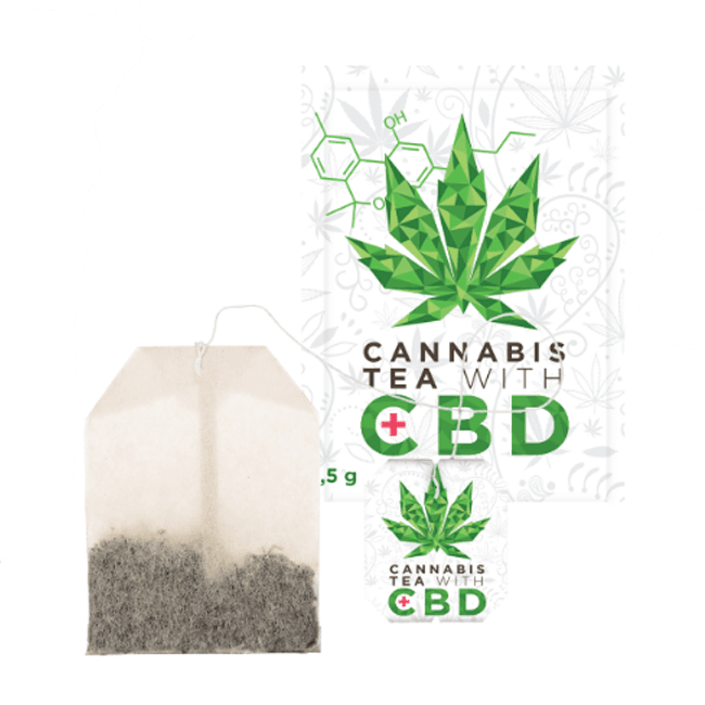 CBD Hemp Tea Bag - No1 CBD