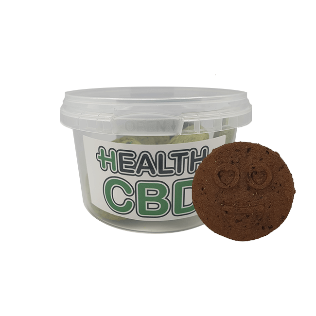 Hemp & Chocolate Cookies With CBD 100mg